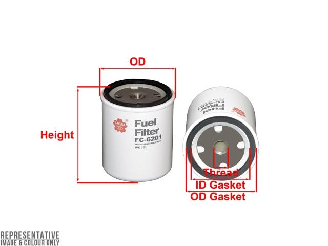 1110 fuel filter f-1110 - fuel filter - sakura filters equivalent - f-1110 ... 2003 jaguar fuel filter