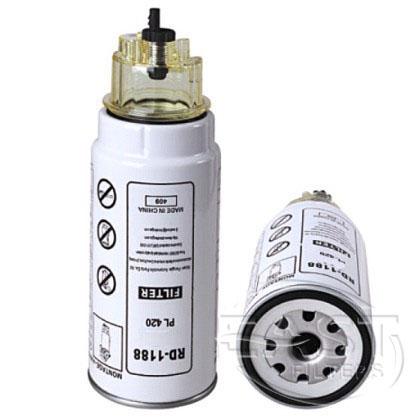 EF-53008 - تصفية الوقود PL420 مع صحن