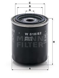 EM-10003 - Oil Filter W 818/82