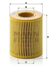 EM-10006 - Oil Filter HU 711/2 x