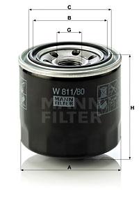 EM-10007 - Oil Filter W 811/80
