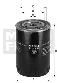 EM-10009 - Oil Filter WP 928/81