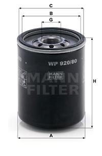 EM-10010 - Oil Filter WP 920/80