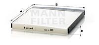 EM-40206 - Cabin Air Filter CU 2855