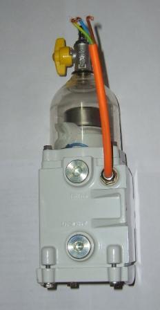Fuel water separator 600FG with heater (as separ SWK 2000/10) is coming soon
